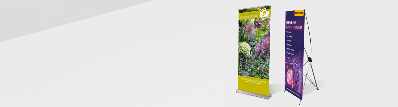 Cheap printed Roller Banners, pop up banner display UK