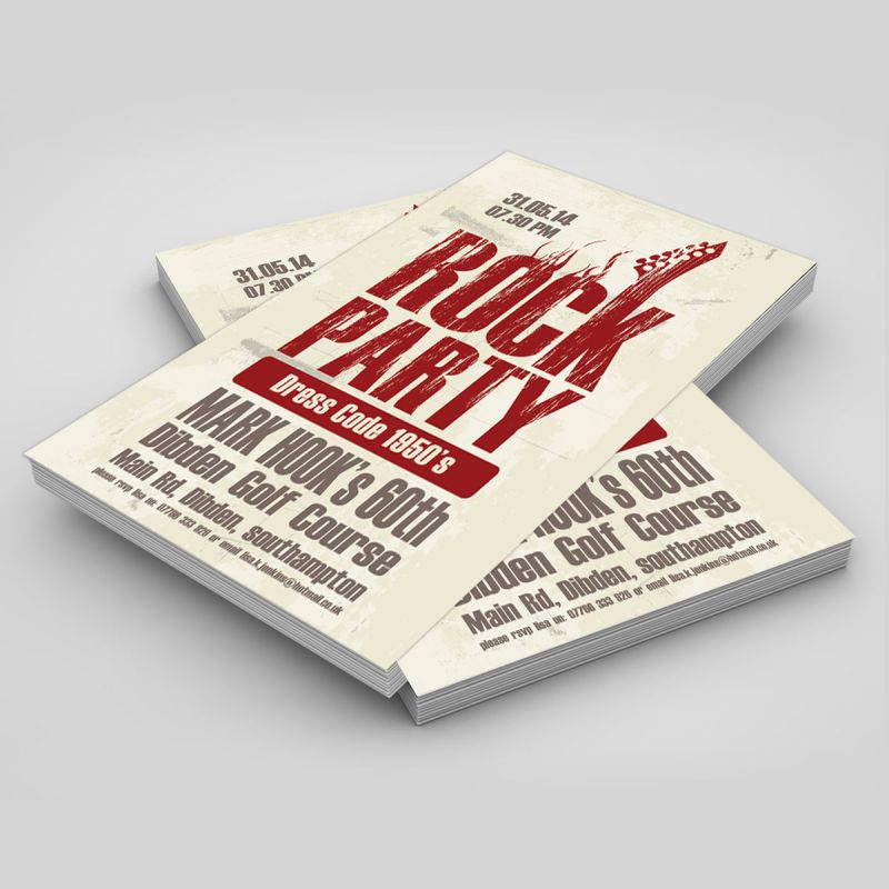 Cheap Flyer printing Southampton Uk.
